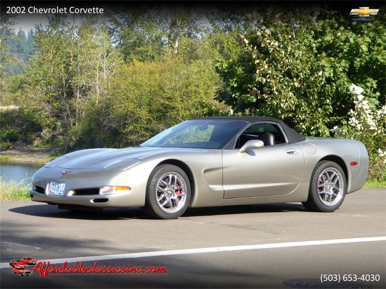 2002 Chevrolet Corvette (CC-1272094) for sale in Gladstone, Oregon