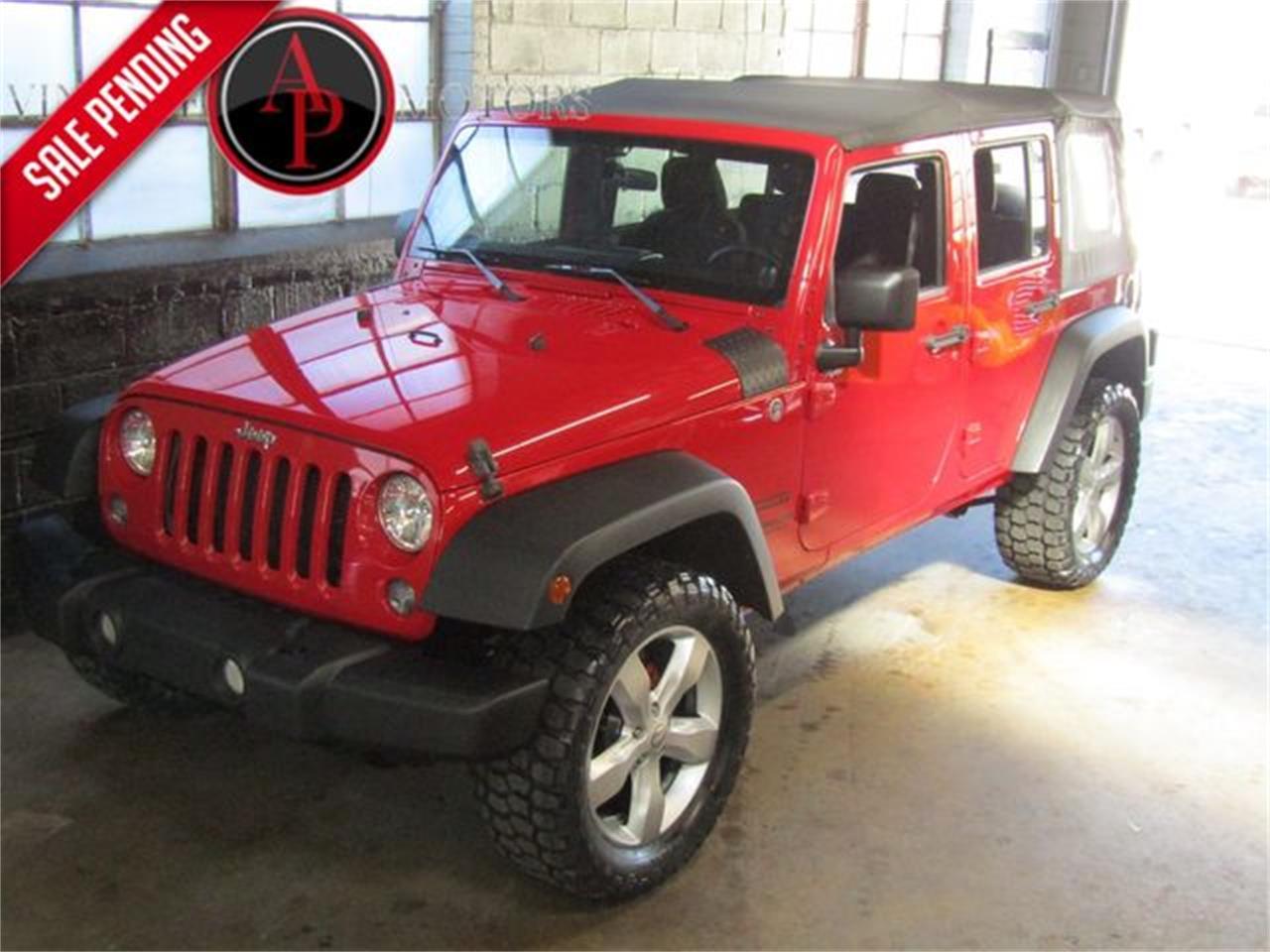 2014 Jeep Wrangler (CC-1272231) for sale in Statesville, North Carolina