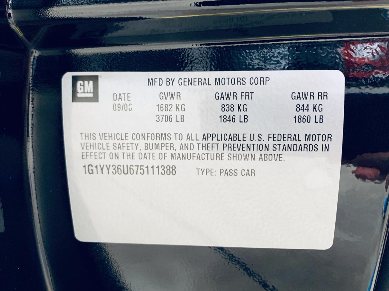 2007 Chevrolet Corvette (CC-1272278) for sale in Mooresville, North Carolina