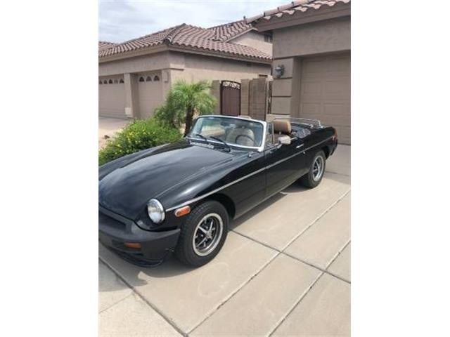 1977 MG MGB (CC-1272293) for sale in Cadillac, Michigan