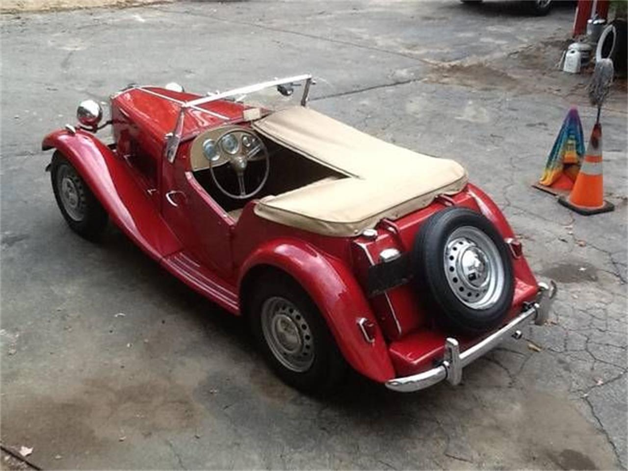 1950 MG TD (CC-1272313) for sale in Cadillac, Michigan