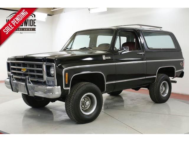 1979 Chevrolet Blazer (CC-1272612) for sale in Denver , Colorado