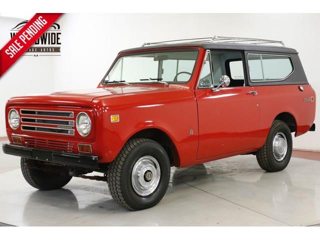 1972 International Scout (CC-1272628) for sale in Denver , Colorado
