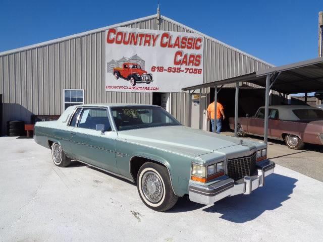 1981 Cadillac DeVille (CC-1270288) for sale in Staunton, Illinois
