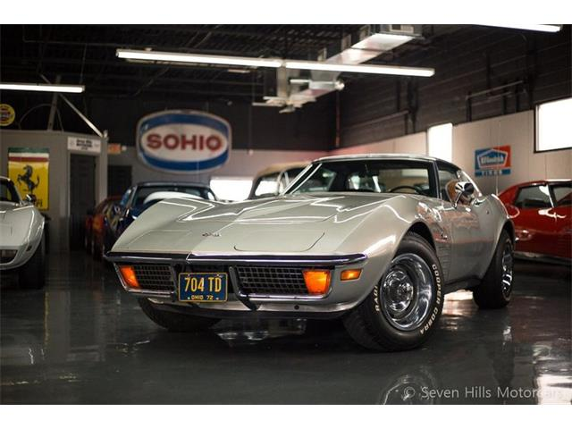 1972 Chevrolet Corvette (CC-1272916) for sale in Cincinnati, Ohio