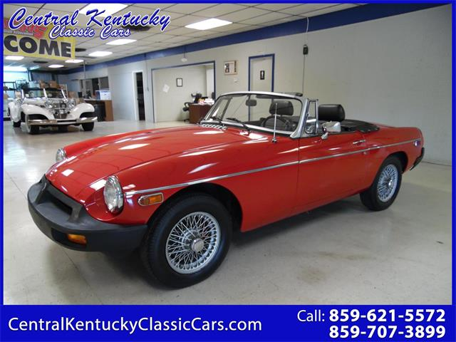 1979 MG MGB (CC-1272952) for sale in Paris , Kentucky
