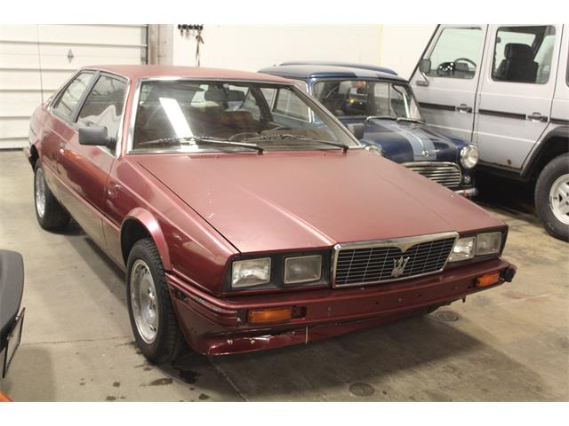 1984 Maserati Biturbo (CC-1273010) for sale in Cleveland, Ohio