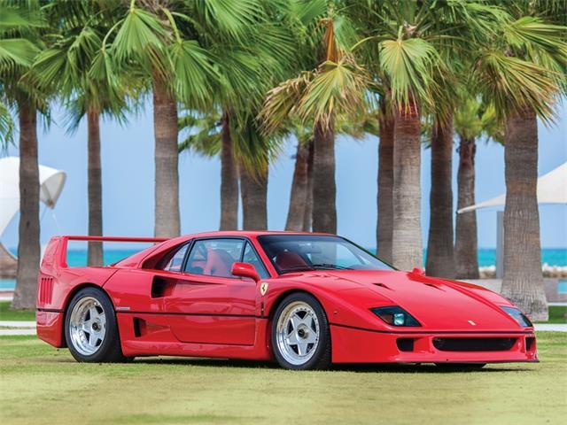 1990 Ferrari F40 (CC-1274022) for sale in Yas Island, Abu Dhabi