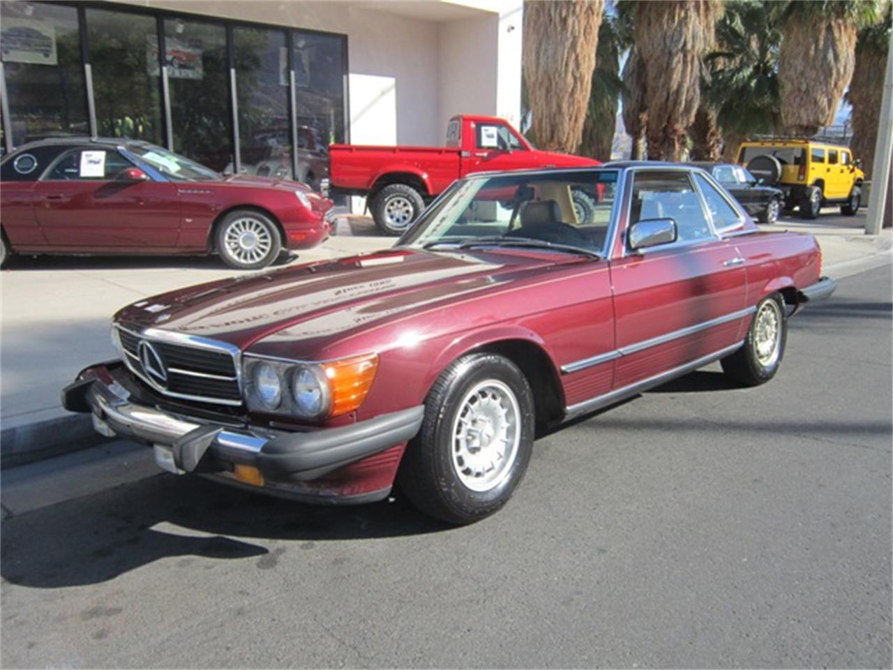 1985 Mercedes-Benz 380SL (CC-1274059) for sale in Palm Springs, California