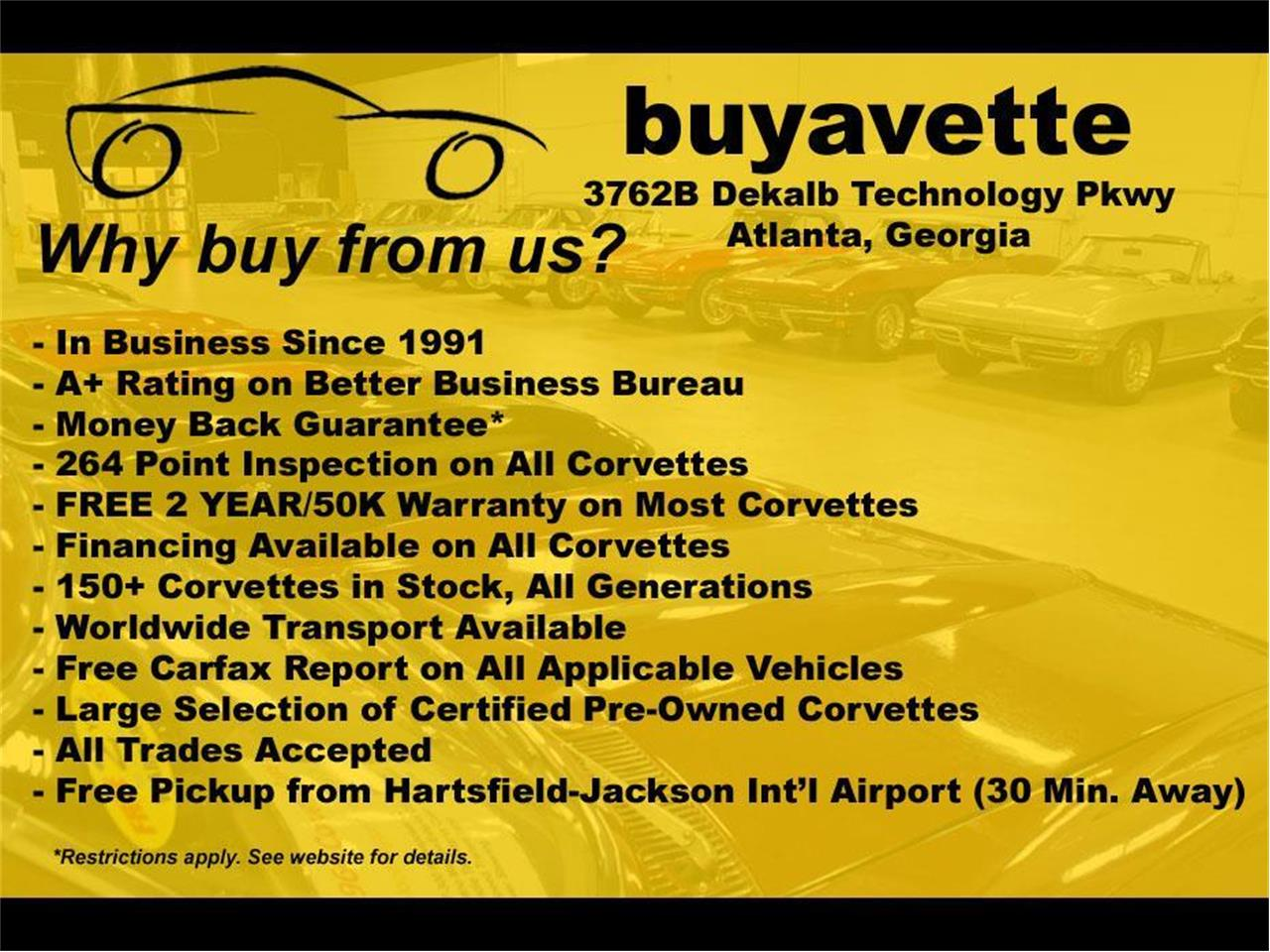 2002 Chevrolet Corvette (CC-1274298) for sale in Atlanta, Georgia