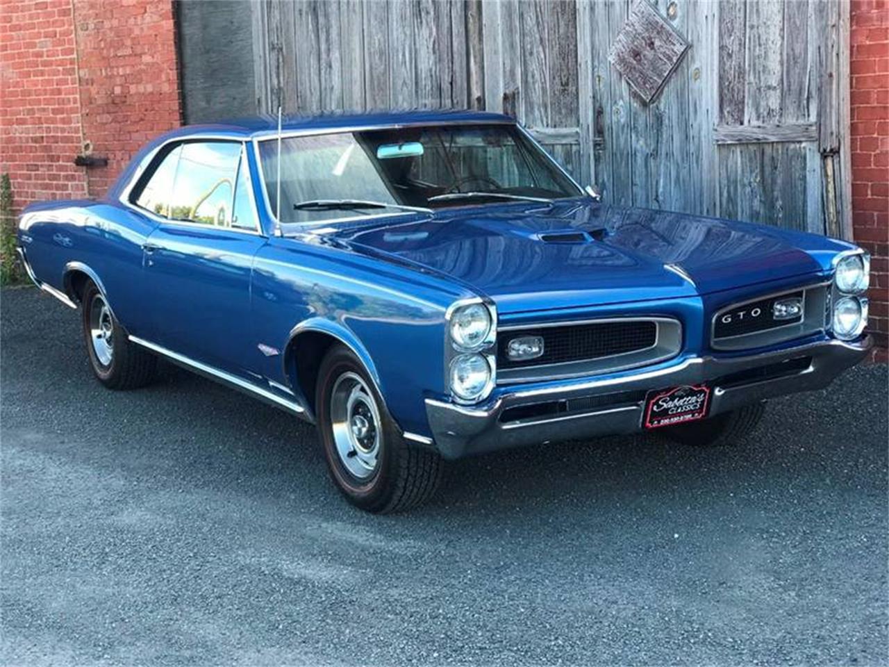 1966 Pontiac GTO (CC-1274398) for sale in Orville, Ohio