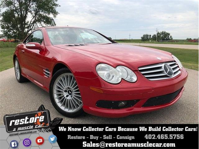 2004 Mercedes-Benz SL55 (CC-1274620) for sale in Lincoln, Nebraska