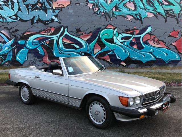 1989 Mercedes-Benz 560 (CC-1274666) for sale in Los Angeles, California