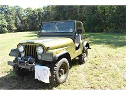 1977 Jeep CJ5 (CC-1274815) for sale in Cadillac, Michigan