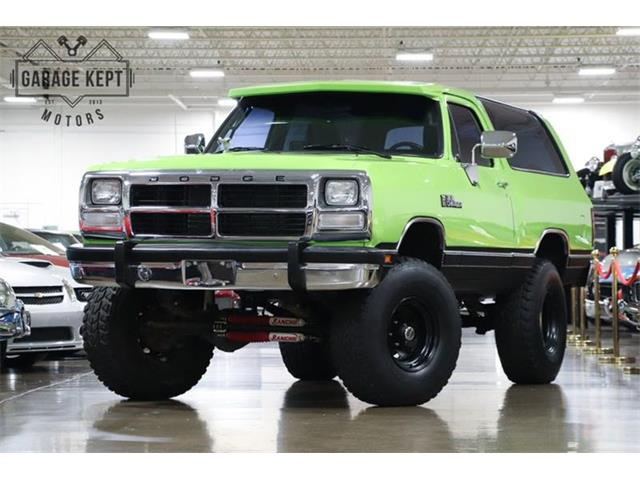 1989 Dodge Ramcharger (CC-1274922) for sale in Grand Rapids, Michigan