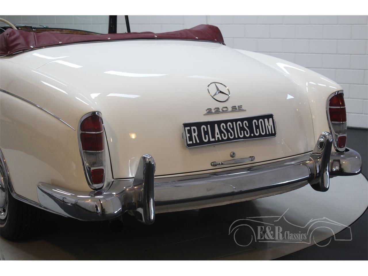 1960 Mercedes-Benz 220SE (CC-1274966) for sale in Waalwijk, Noord-Brabant
