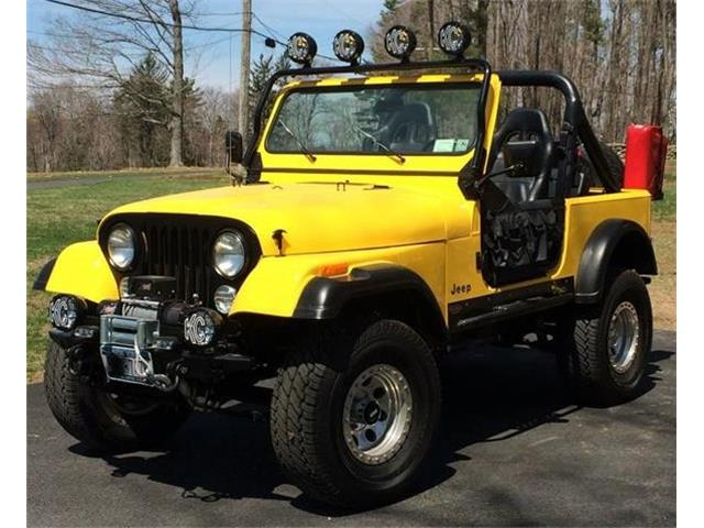 1986 Jeep CJ7 (CC-1274997) for sale in Mount Kisco, New York