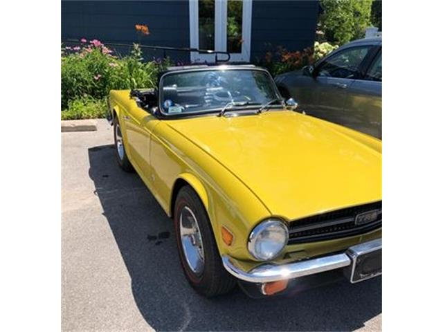 1976 Triumph TR6 (CC-1275208) for sale in Suttons Bay, Michigan
