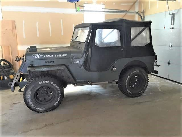 1953 Willys Jeep (CC-1275221) for sale in Hebron, Connecticut