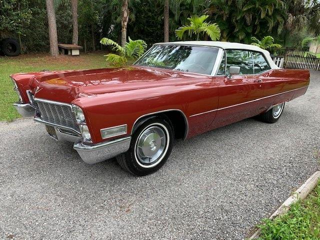 1968 Cadillac DeVille (CC-1275274) for sale in Punta Gorda, Florida