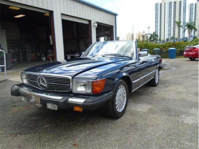 1984 Mercedes-Benz 380SL (CC-1275345) for sale in Punta Gorda, Florida