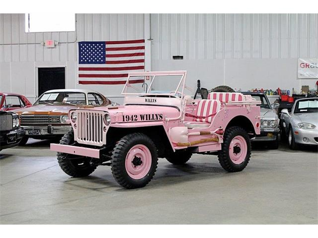 Military Jeeps For Sale >> Classic Willys Jeep For Sale On Classiccars Com