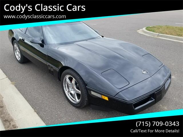 1986 Chevrolet Corvette (CC-1275607) for sale in Stanley, Wisconsin