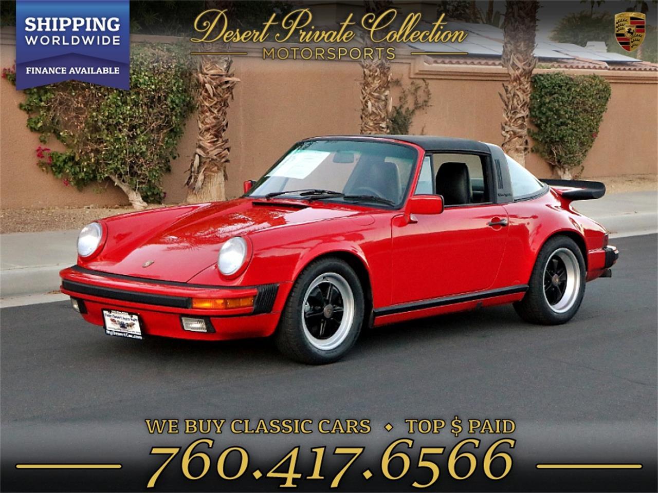 1989 Porsche 911 Carrera (CC-1275670) for sale in Palm Desert , California