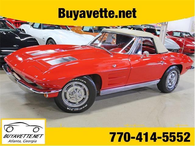 1963 Chevrolet Corvette (CC-1276043) for sale in Atlanta, Georgia
