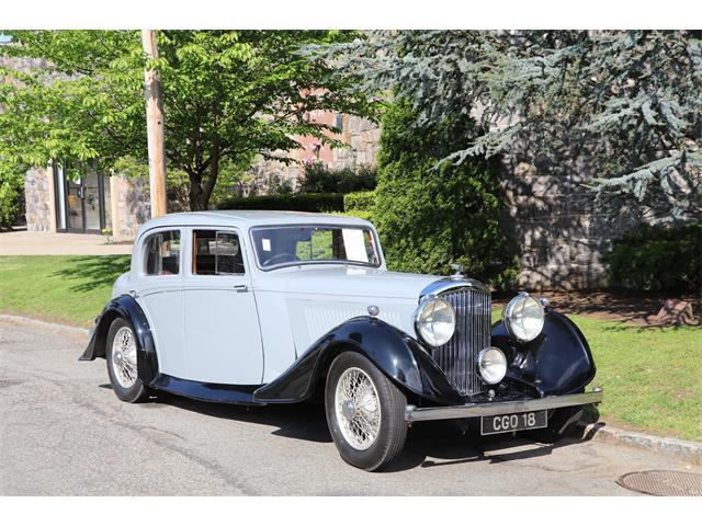1937 Bentley Saloon