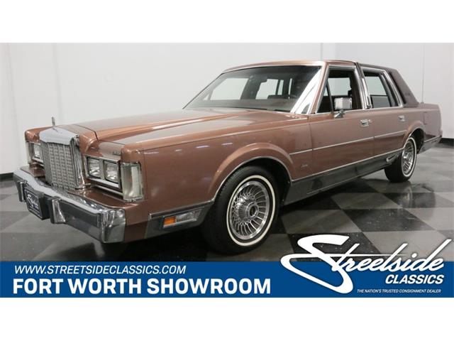 1985 Lincoln Town Car (CC-1276238) for sale in Ft Worth, Texas