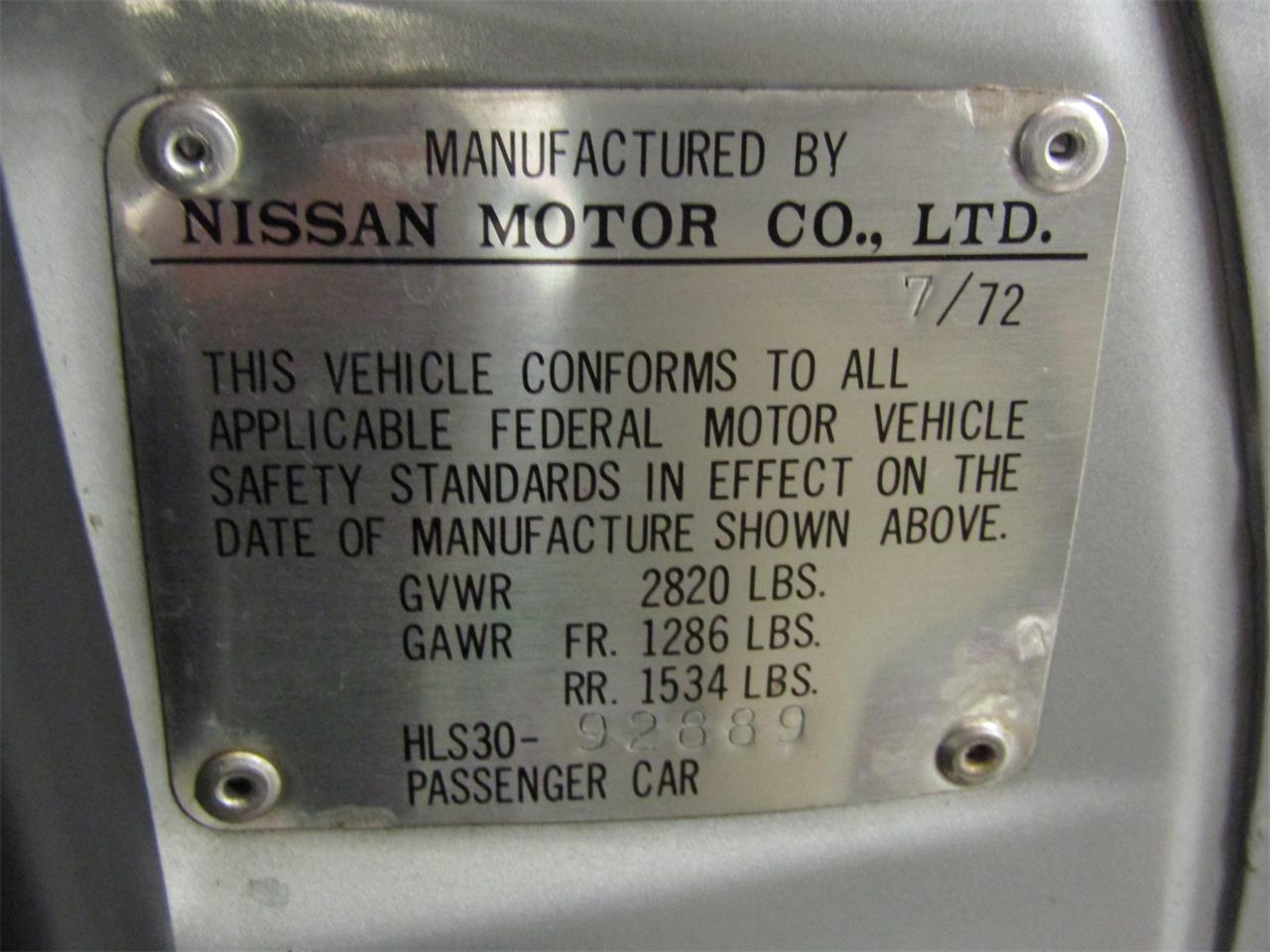 1972 Datsun 240Z (CC-1276287) for sale in Christiansburg, Virginia