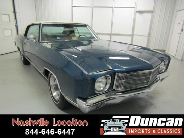 1970 Chevrolet Monte Carlo (CC-1276290) for sale in Christiansburg, Virginia