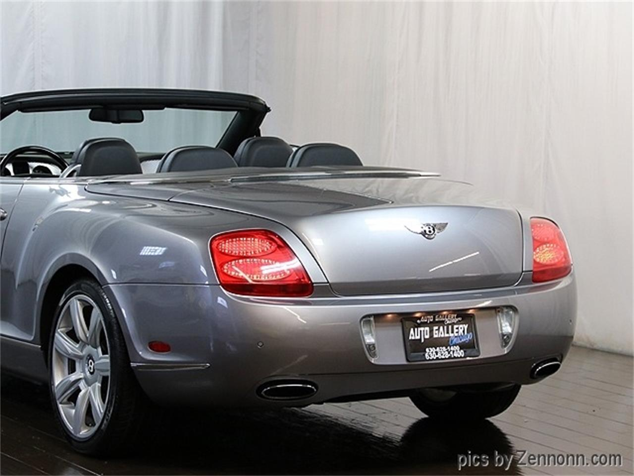 2007 Bentley Continental GTC (CC-1276445) for sale in Addison, Illinois