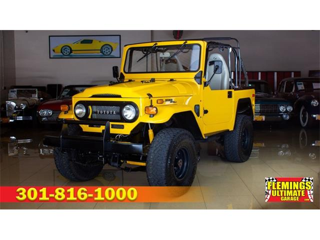 1970 Toyota Land Cruiser FJ (CC-1276481) for sale in Rockville, Maryland