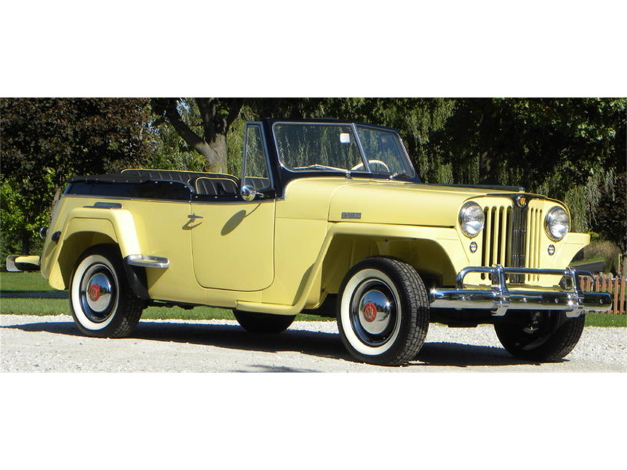 1949 Willys-Overland Jeepster (CC-1276566) for sale in Naples, Florida