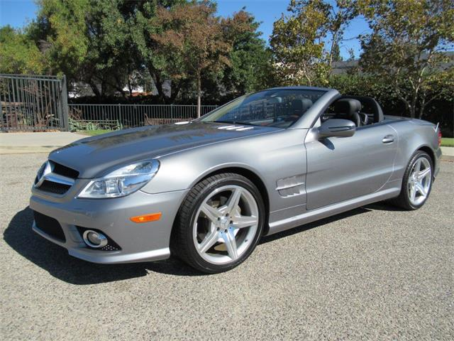 2009 Mercedes-Benz SL55 (CC-1276679) for sale in SIMI VALLEY, California