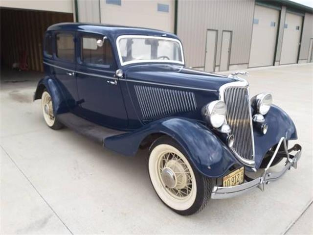1934 Ford Deluxe (CC-1270697) for sale in Cadillac, Michigan