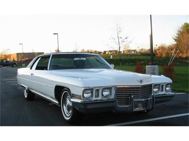 1972 Cadillac Coupe DeVille (CC-1270088) for sale in Harpers Ferry, West Virginia