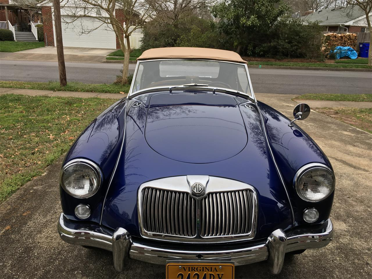 1957 MG MGA (CC-1270954) for sale in Virginia Beach, Virginia