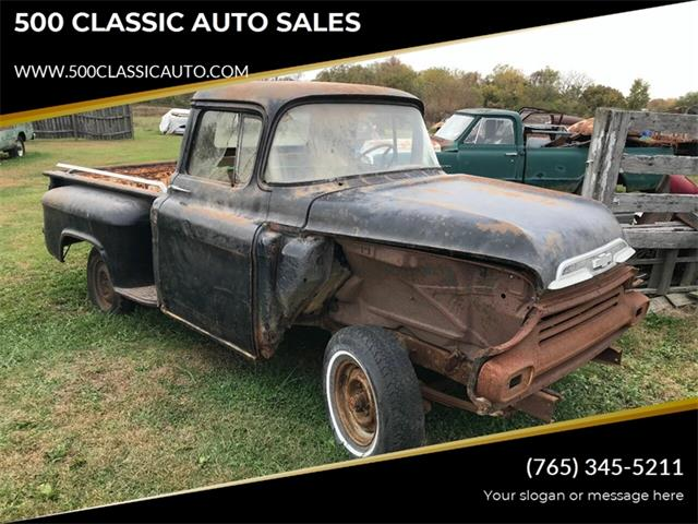 1959 Chevrolet 3100 (CC-1292467) for sale in Knightstown, Indiana