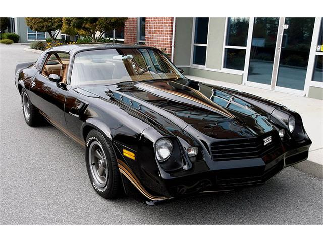 1980 Chevrolet Camaro Z28 (CC-1292517) for sale in Vancouver, British Columbia