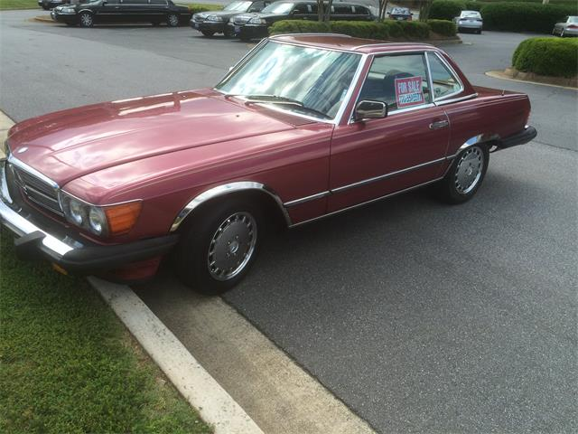 1989 Mercedes-Benz 560SL (CC-1292559) for sale in Marietta, Georgia