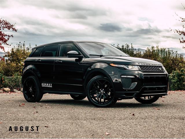 2017 Land Rover Range Rover Evoque (CC-1292659) for sale in Kelowna, British Columbia