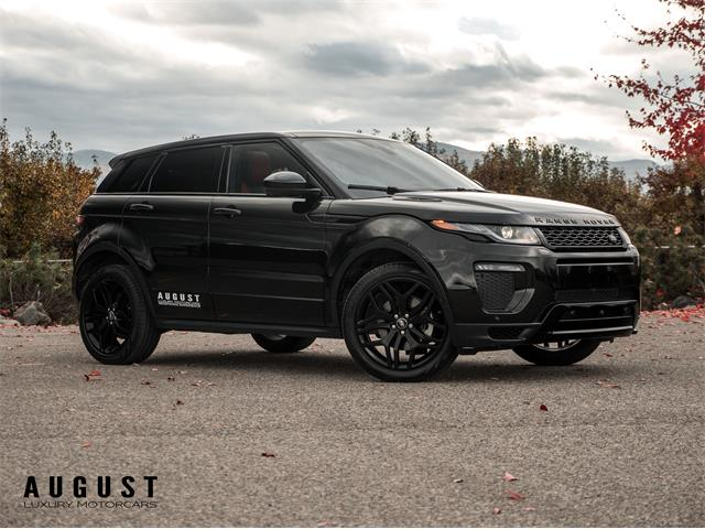 2017 Land Rover Range Rover Evoque (CC-1292659) for sale in Kelowna, British Columbia