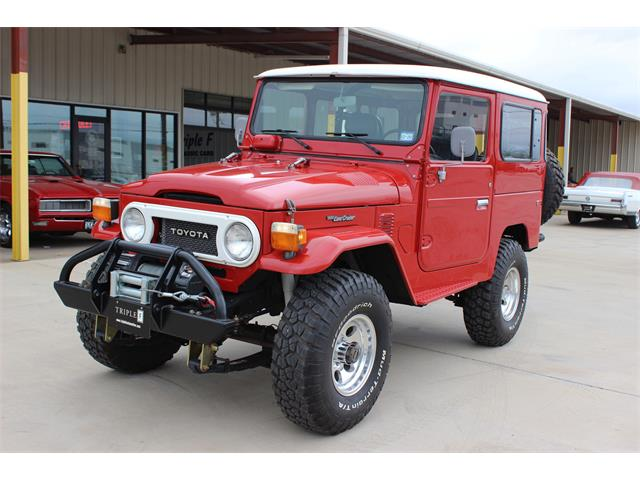 1978 Toyota Land Cruiser FJ40 (CC-1292781) for sale in Fort Worth, Texas