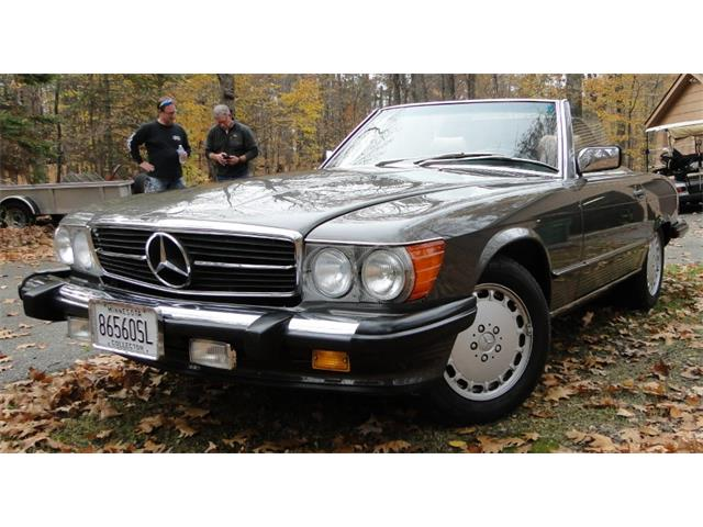 1986 Mercedes-Benz 560SL (CC-1292832) for sale in Grand Rapids, Minnesota