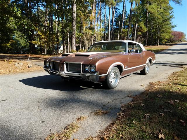 1972 Oldsmobile 442 (CC-1293175) for sale in Anderson, South Carolina