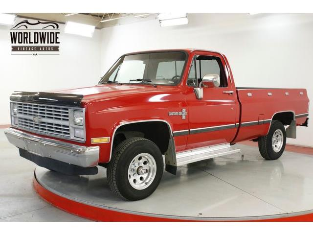 1984 Chevrolet K-10 (CC-1293242) for sale in Denver , Colorado