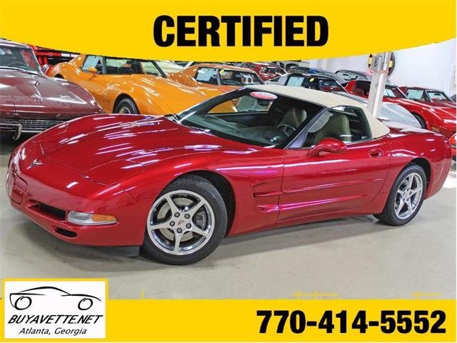 2001 Chevrolet Corvette (CC-1293433) for sale in Atlanta, Georgia